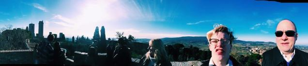 Parker's bad a panoramas.